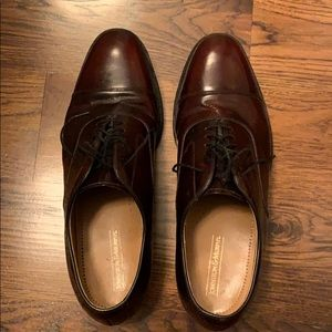 Johnston and Murphy cap-toe dress shoes
